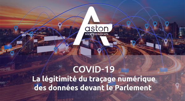 [Covid-19] La légitimité du traçage numérique des données devant le Parlement (#1)