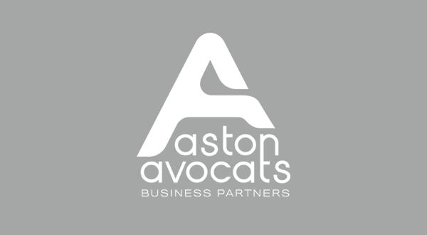 Une nouvelle identité graphique pour Aston Avocats